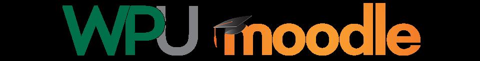 Logo of WPU Moodle